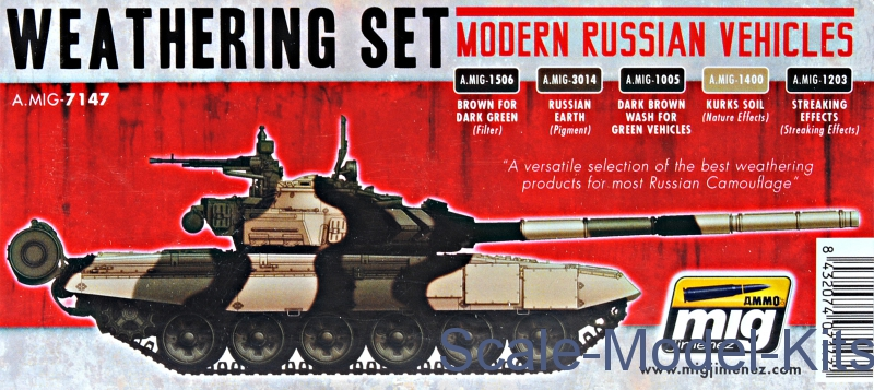 MIG (AMMO) - Smart set: Modern russian vehicles Weathering