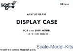 CG-DC7001 Display case for 1/700 ship model