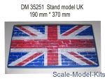 DAN35251 Display stand. UK theme, 370x190mm