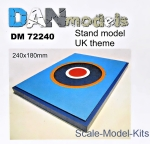 DAN72240 Display stand. United Kingdom theme, 180x240mm