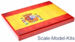 Display stand. Spain, 240x180mm