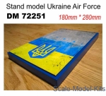 DAN72251 Display stand. Ukrainian AF, 280x180mm