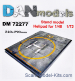 DAN72277 Display stand. Helipad, 240x290 mm