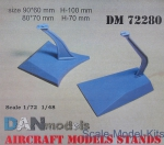 DAN72280 Aircraft models stands, 2 pcs