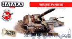 HTK-AS95 WW2 Soviet AFV paint set, 6 pcs