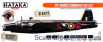 HTK-CS102 RAF Bomber Command paint set, 8 pcs
