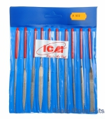 ICM-A622 Needle file set with a diamond-coated (10 pcs.)
