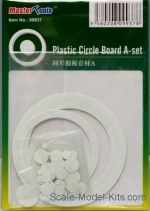 MTS09937 Plastic discs and rings (72 pieces) A-set