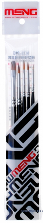 MENG-MTS010 Brush set, 5 pcs