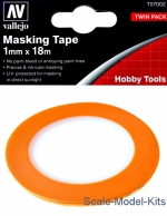 VLJ-T07002 Precision Masking Tape 1 mm x 18 m, 2 pcs