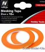 VLJ-T07003 Precision Masking Tape 2 mm x 18 m, 2 pcs