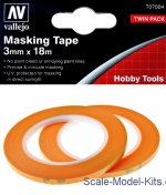 VLJ-T07004 Precision Masking Tape 3 mm x 18 m, 2 pcs