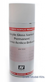 VLJ28530 Acrylic gloss varnish permanent, 400ml (aerosol)