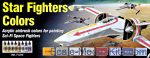 VLJ71612 Model Air Set Star Fighters Colors, 8 pcs
