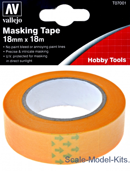 Precision Masking Tape 18mm x18m